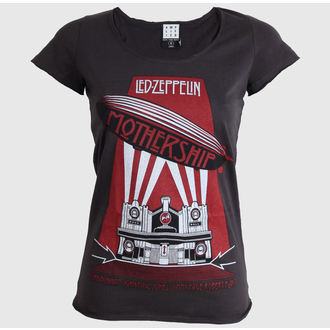 Damen T-Shirt  AMPLIFIED - Led Zeppelin - Mothership - Charcoal, AMPLIFIED, Led Zeppelin