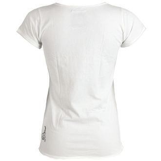 Damen T-Shirt  AMPLIFIED - Rolling Stones - UK Tongue - White, AMPLIFIED, Rolling Stones