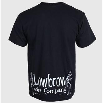 Herren T-Shirt   BLACK MARKET - Lowbrow - Black - LB0200, BLACK MARKET