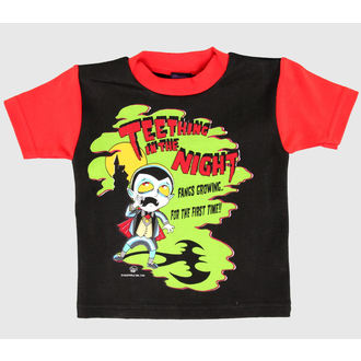 Kinder T-Shirt  KREEPEKIDS - Black - NS312