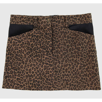 Damen Rock  COLLECTIF - Brown