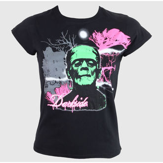 Damen T-Shirt  DARKSIDE - Black, DARKSIDE