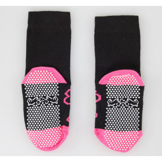 Kinder Socken  LEATHER HEAVEN - Pink Skull