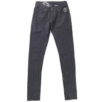 Damen Hose  CRIMINAL DAMAGE - BLK/WHT