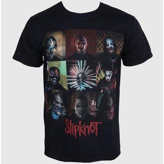 Männer Shirt Slipknot - Blocks - Black - ROCK OFF, ROCK OFF, Slipknot