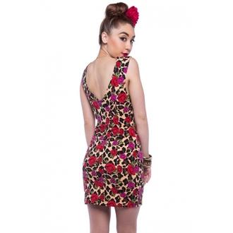 Damen Kleid  IRON FIST - Leopard Garden - Leopard, IRON FIST