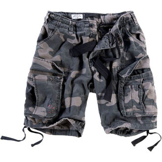 Herren Shorts  SURPLUS - Airborne vintage - Black Come, SURPLUS
