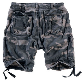 Herren Shorts  SURPLUS - Airborne vintage - Black Come
