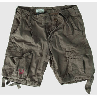 Shorts Men SURPLUS - Airborne Vintage - Oliv Gewas