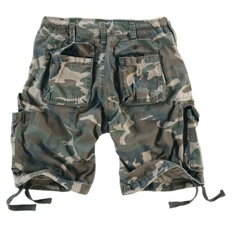 Herren Shorts  SURPLUS - Airborne Vintage - Woodland Gewas, SURPLUS
