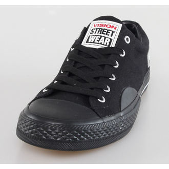 Herren Schuhe VISION - Canvas LO - Black/Black, VISION