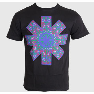 Herren T-Shirt   Red Hot Chili Peppers - Aztec Face Asterik - Charcoal - AMPLIFIED, AMPLIFIED, Red Hot Chili Peppers