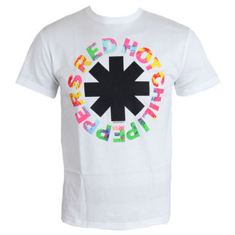 Herren T-Shirt   Red Hot Chili Peppers - Hyper Colour Logo - White - AMPLIFIED, AMPLIFIED, Red Hot Chili Peppers