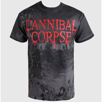 Herren T-Shirt   Cannibal Corpse  - A Skeletal Domain - Volldruck - PLASTIC HEAD, PLASTIC HEAD, Cannibal Corpse