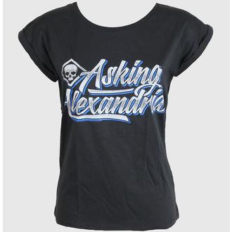 Damen T-Shirt  Asking Alexandria - Cript - Grey - PLASTIC HEAD, PLASTIC HEAD, Asking Alexandria