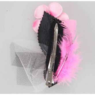 Haarspange   Pink Skeleton