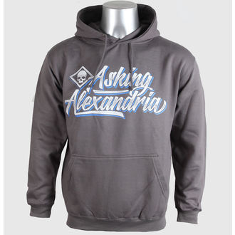 Herren Hoodie Asking Alexandria - Script - Grey - PLASTIC HEAD, PLASTIC HEAD, Asking Alexandria