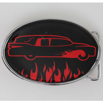 Gürtelschnalle SOURPUSS - Car - Black/Red, SOURPUSS