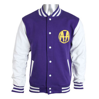Herren Sweatjacke Asking Alexandria - Skull Shield - Purple - PLASTIC HEAD - PH8143