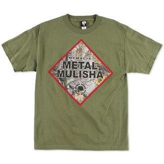 Herren T-Shirt  METAL MULISHA - Construct - MGN
