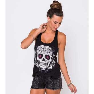 Damen Tanktop METAL MULISHA - Sugary Skull, METAL MULISHA