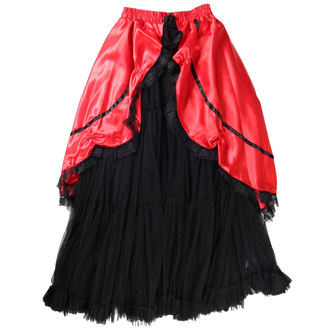Damen Rock  Buvs - Black/Red, NNM