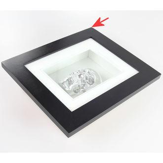 Bild Silver Skull In Frame - BESCHÄDIGT