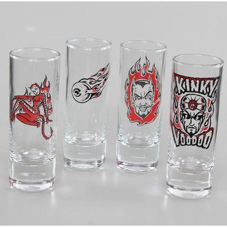 Schnapsglas (4er Set) Lucky 13