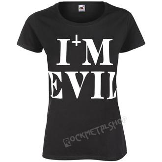 Damen T-Shirt Hardcore - I'M EVIL - AMENOMEN - OMEN058DA