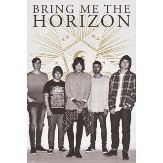 Poster Bring Me The Horizon - Star - PYRAMID POSTERS, PYRAMID POSTERS, Bring Me The Horizon