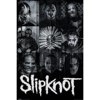Poster Slipknot - Masks - PYRAMID POSTERS, PYRAMID POSTERS, Slipknot