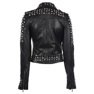 Damen Jacke Lederjacke  KILLSTAR - Studded, KILLSTAR