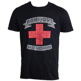 Herren T-Shirt Bon Jovi - Bad Medicine - LIVE NATION, LIVE NATION, Bon Jovi