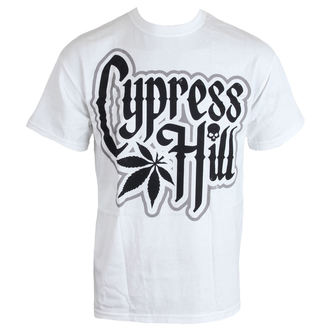 Herren T-Shirt Cypress Hill - Logo - WHT, Cypress Hill