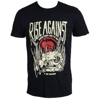 Herren T-Shirt Rise Against - Vulture - BLK - LIVE NATION, LIVE NATION, Rise Against