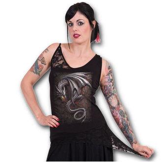 Damen Tank Top  SPIRAL - Obsidian - Black - M016G050