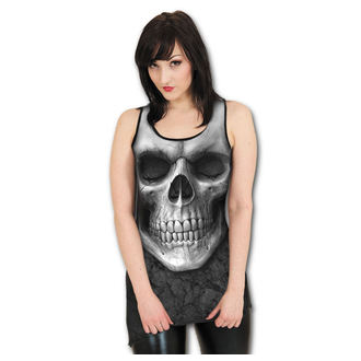 Damen Kleid  SPIRAL - Solemin Skull - Black - S012G056