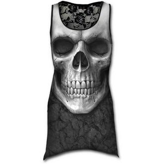 Damen Kleid  SPIRAL - Solemin Skull - Black