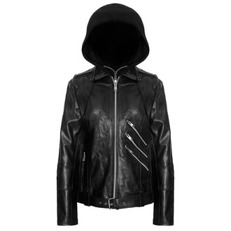 Herrenjacke  (Leather Jacket) KILLSTAR - Moody - Vegan, KILLSTAR