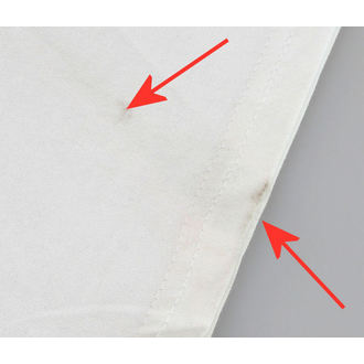Herren T-Shirt BLACK ICON - White - BESCHÄDIGT, BLACK ICON