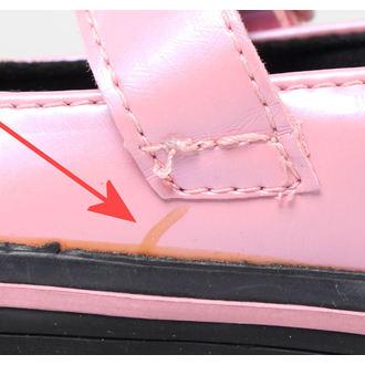 Schuhe Kinder T.U.K.- Pink / Black - BESCHÄDIGT, NNM
