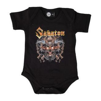 Baby Body  Sabaton - Metallizer - Black - Metall-Kids, Metal-Kids, Sabaton