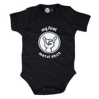 Baby Body  Metall-Kids - My First Metall Hemd - Black, Metal-Kids