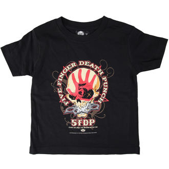 Kinder T-Shirt  Five Finger Death Punch - Knucklehead - Black - Metall-Kids, Metal-Kids, Five Finger Death Punch