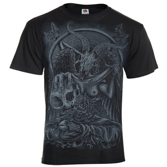 Herren T-Shirt AMENOMEN - Demon - BLK - KOMEN023