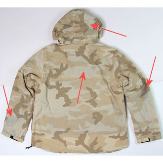 Windjacke SURPLUS - Windbreaker - DESERT - BESCHÄDIGT, SURPLUS