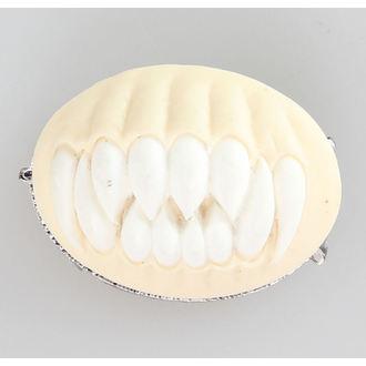 Brosche RESTYLE - TEETH - white, RESTYLE