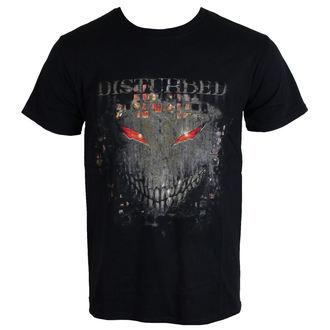 Herren T-Shirt Disturbed  - Fire Behind - ROCK OFF, ROCK OFF, Disturbed