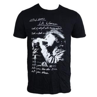 Herren T-Shirt Doors - LA Woman Lyrics - ROCK OFF, ROCK OFF, Doors