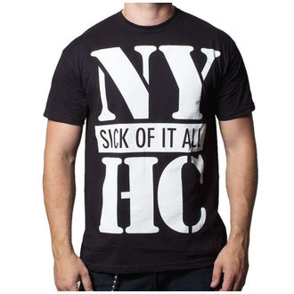 Herren T-Shirt Sick Of It All - Us Vs. Them - BUCKANEER - Black, Buckaneer, Sick of it All